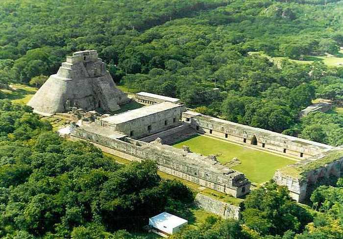 Где находится Гватемала? Пирамида